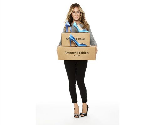 Sarah Jessica Parker in partnership con Amazon