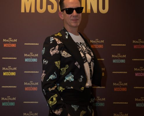 Jeremy Scott, Moschino evento Magnum