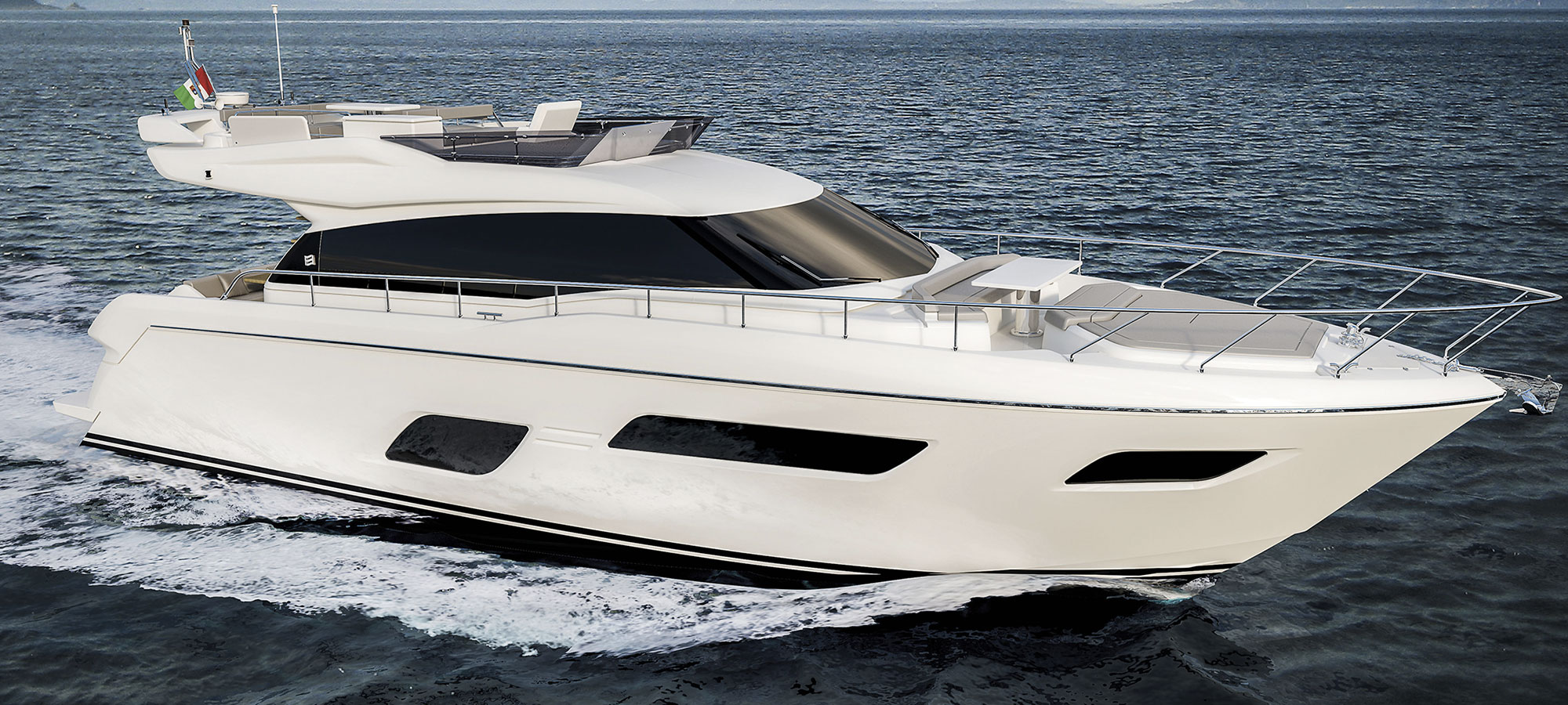 Ferretti Yachts 550, un entry level davvero… top