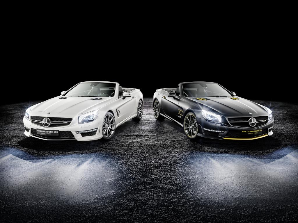 Mercedes, due SL63 AMG in limited edition