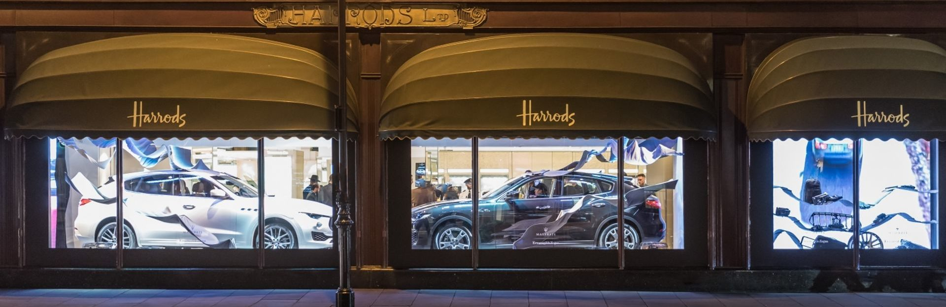 Da Harrods in vetrina la capsule collection Ermenegildo Zegna Exclusively for Maserati