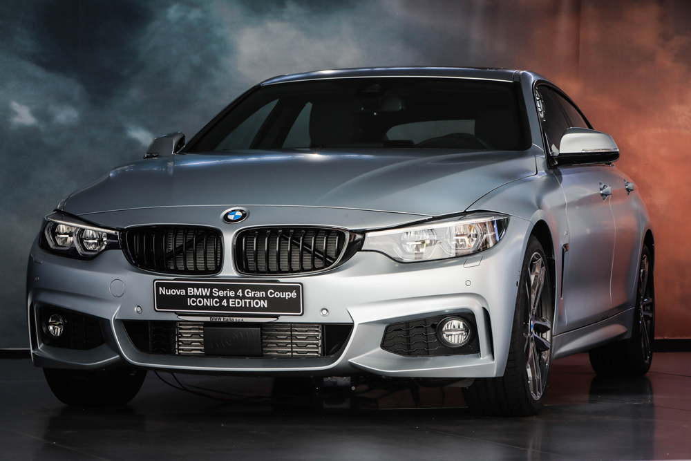 BMW Serie 4 ICONIC 4 EDITION: per chi non si accontenta!
