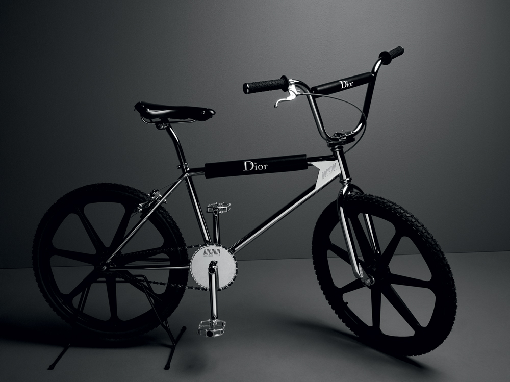 BMX Dior Homme, limited edition in collaborazione con Bogarde