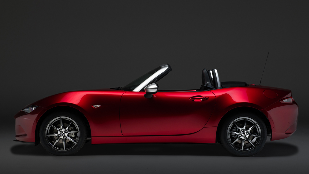 mazda mx 5 limited edition with pollini heritage modaiola. Black Bedroom Furniture Sets. Home Design Ideas