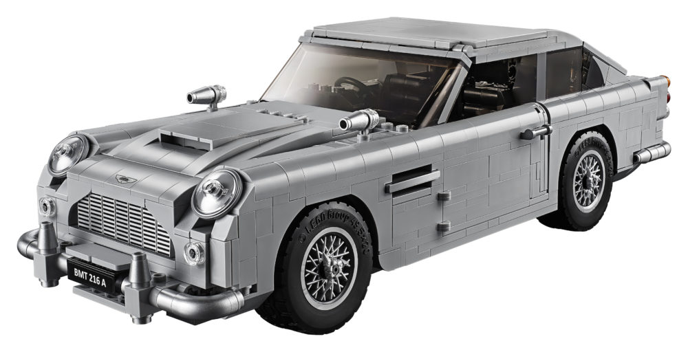 Aston Martin DB5 di James Bond… di mattoncini Lego!