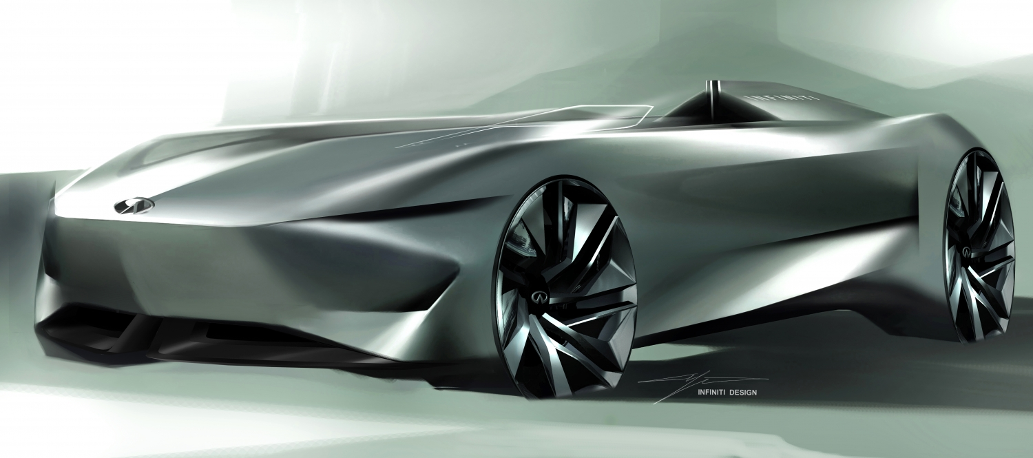 INFINITI svelerà a Pebble Beach la concept car Prototype 10