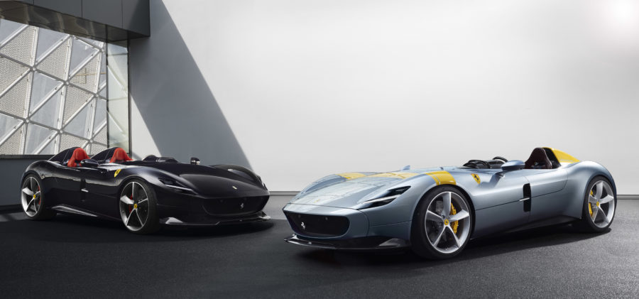 Ferrari Monza SP1 e SP2: Icone in limited edition del Cavallino Rampante