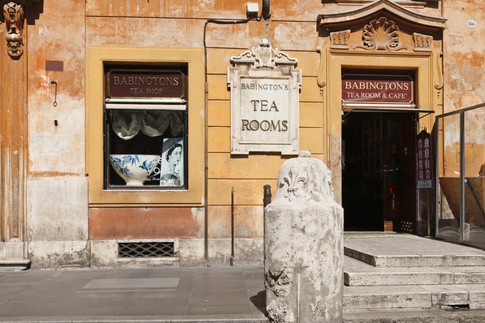 Babington's tea room di Roma: 125 anni di storia in… english style!