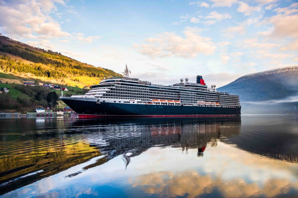 CUNARD - QUEEN VICTORIA _3 of 7_