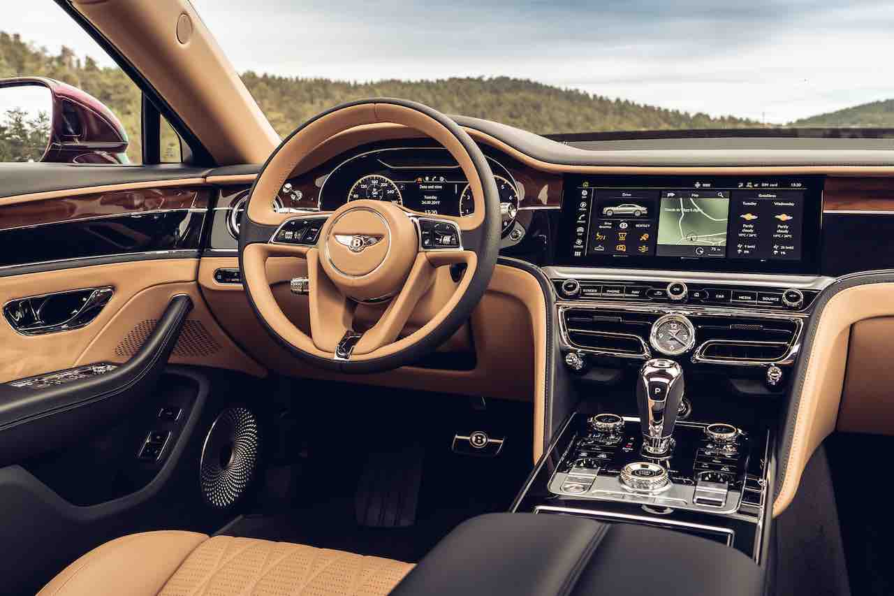 Bentley Flying Spur HMI