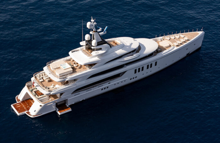 "Il mega yacht ""Metis"" di Benetti vince il World Superyacht Awards 2020"